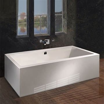 mti andrea  freestanding sculpted tub