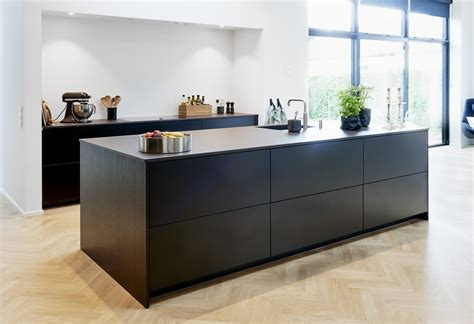 interior design pictures of kitchens verdi kitchens surrey matt black laminate kitchen
