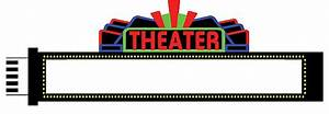Animated neon medium theatre sign by miller engineering for Theatre sign clipart