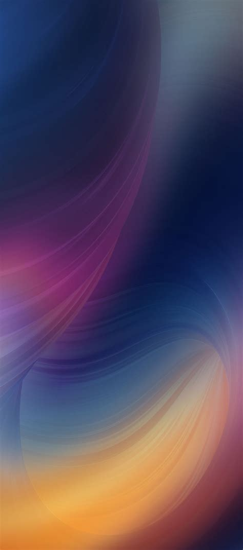 Abstract Wallpaper Iphone X by Ios 11 Iphone X Purple Blue Clean Simple Abstract