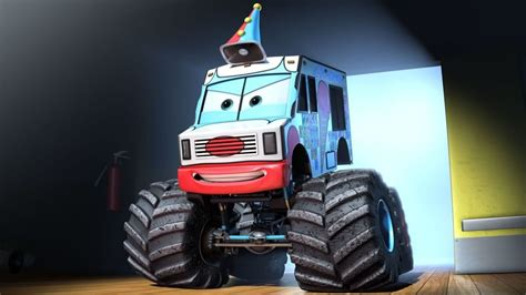 mater monster truck videos cars toons mater s tall tales the video game monster