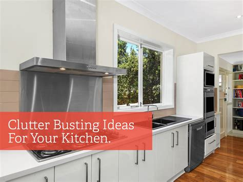 Kitchen Bench Clutter by Clutter Busting Ideas To Free Up Kitchen Bench Space