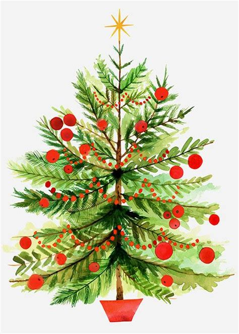 vintage wire christmas tree clipart   cliparts