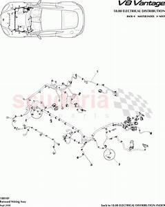Aston Martin V8 Vantage Forward Wiring Assembly Parts