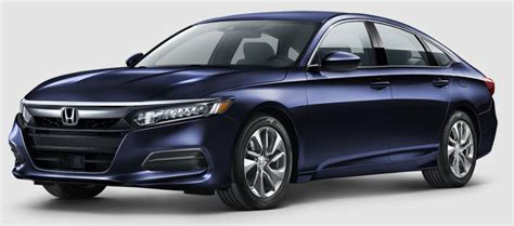 2018 Honda Accord Exterior Color Options