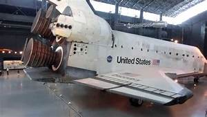 Close look at NASA space Shuttle external structure and ...