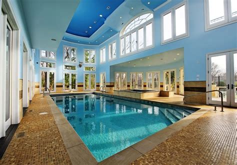 Northfield, Il Indoor Swimming Pool And Hot Tub