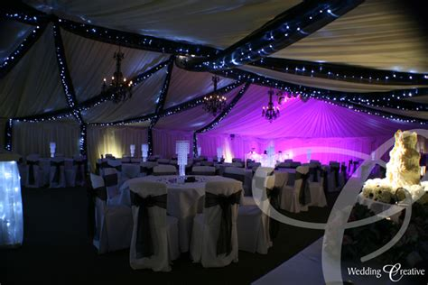 marquee draping ideas venue dressing at yaxley wedding creative