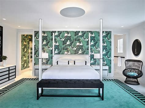 tropical wallpaper ideas  greenery  colorful