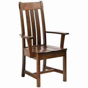 Chesapeake Dining Chair Solid Wood Chairs Amish Tables