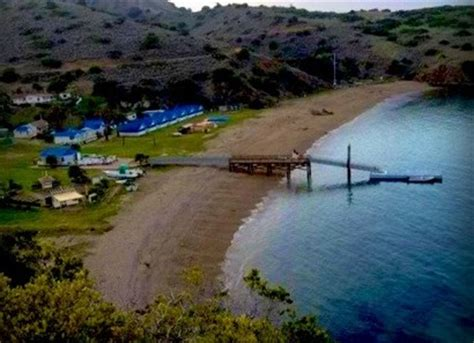 U Boat Landing Long Island by Howlands Landing On Catalina Island Avalon Ca