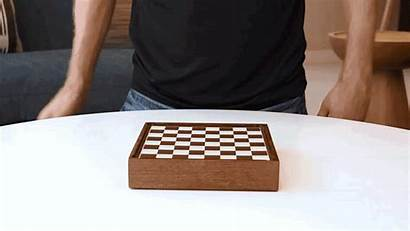 Chess Play Clever Box Open Already Ready