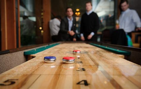 a shuffleboard table shuffleboard table picture of reds wine tavern toronto 7337
