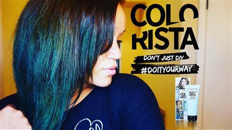 L'oreal Colorista Semi Permanent Hair Color Teal