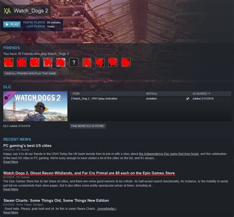 Steam's 'Recent News' Tab Is Promoting The Epic Games Store