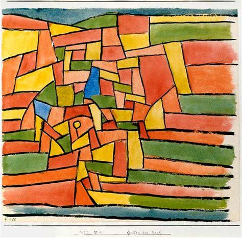 Garten Am Bach, 1927 220 (v 10)  Paul Klee Als