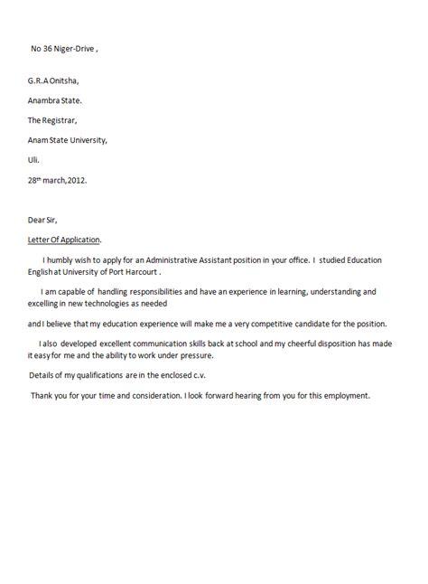 accountant application letter sample  docs