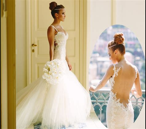 backless wedding dress lace 7 pretty lace backless wedding dresses gowns