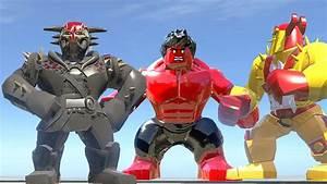 KURSE VS RED HULK VS KURSE (DARK WORLD) - LEGO Marvel ...