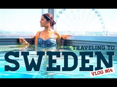 Travel Sweden For Conference Nikita Vlogs