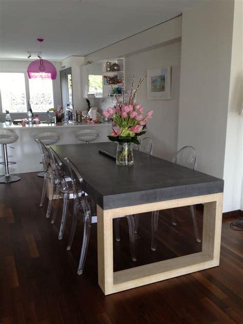 table de salle 224 manger en b 233 ton balian beton atelier