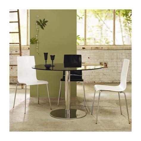 mesa comedor de vidrio templado courb mesa de comedor de vidrio templado habitat