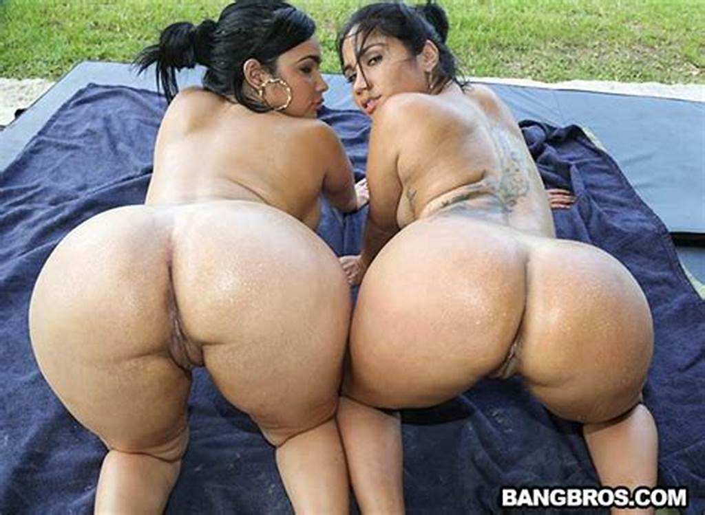 #Two #Big #Huge #Asses #Outside