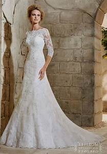 a line wedding dress lace sleeves naf dresses With a line lace wedding dress with sleeves