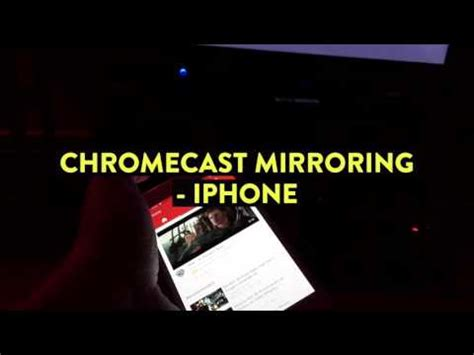 iphone chromecast mirroring chromecast and airplay screen mirroring to pc or mac with