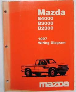 1997 Mazda B4000 B3000 B2300 Pickup Truck Electrical