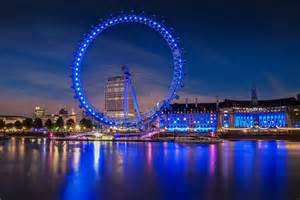 The London Eye Ferris Wheel in England