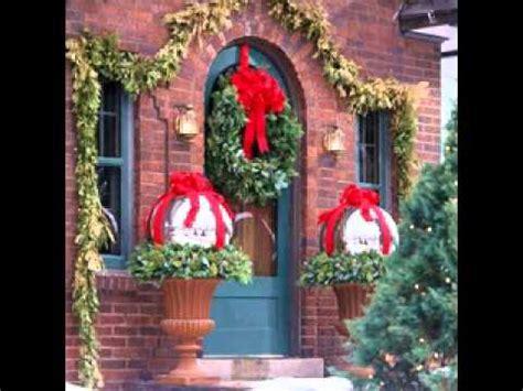 easy diy outdoor christmas decorations ideas youtube