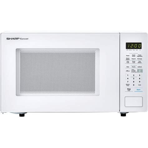Sharp Microwave Ovens Countertop by Sharp Carousel 1 4 Cu Ft 1000w Countertop Microwave Oven