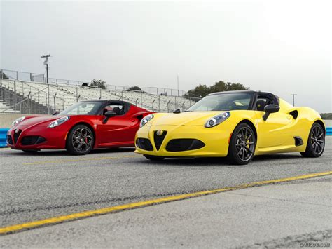2015 Alfa Romeo 4c Spider (usspec)  Front  Hd Wallpaper