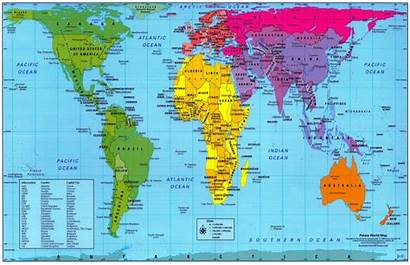 Map Accurate Geographically Peters Correct Actual Travel
