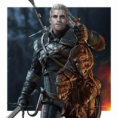 Geralt Rivia Netflix Witcher Cavill Henry Would