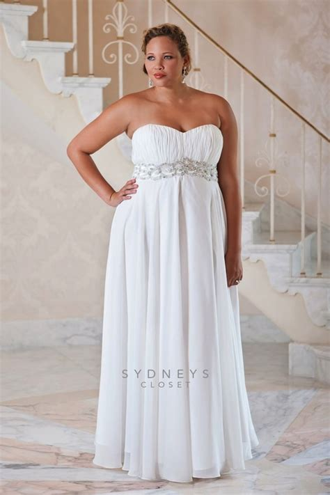 top 10 plus size wedding dress designers by pretty pear