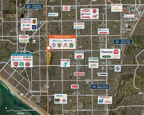 newland center huntington beach ca  retail space