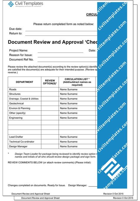 project management documents template store