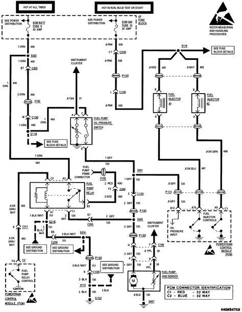 Gm Fuel Wiring Diagram by Fuel Injector Wiring Diagram Webtor Me