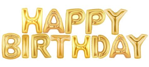 happy birthday letters happy birthday letter foil balloon 1set supplies