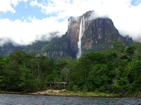 Best Places In The World Angel Falls Venezuela The