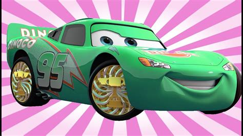Lightning Mcqueen Different Colors Changing Cars L Disney