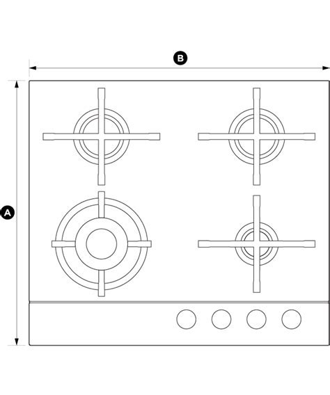 Cg604dnggb1  Fisher And Paykel Gas On Glass Cooktop