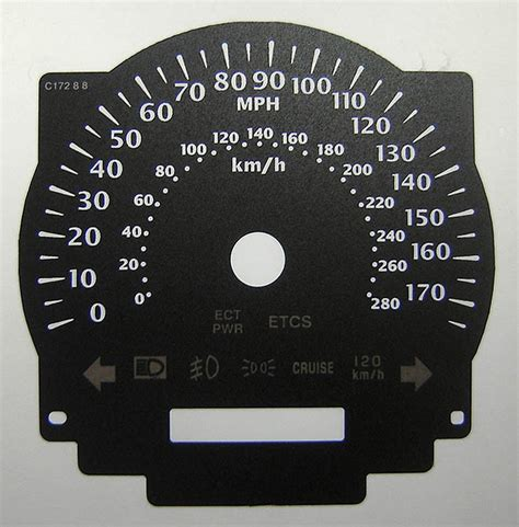430 Kmh To Mph by Sc 430 Kmh To Mph Speedo Meter Clocks Dials