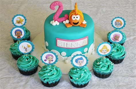 guppies cake and cupcakes lydia grace flickr