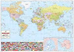 World's Best World Map (Laminated)