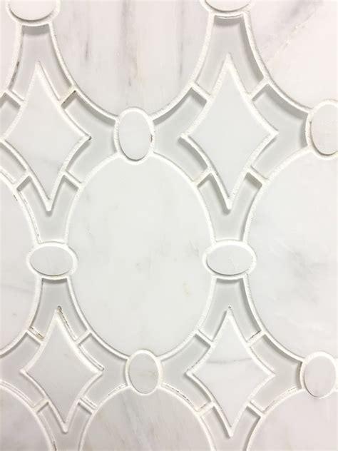 daltile bath accessories antique water jet mosaic tile in arabescato