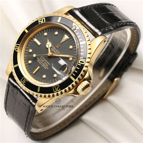 Vintage Collectable Rolex Submariner Date 1680 Nipple Dial ...