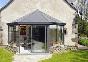 Jardin D Hiver Veranda : veranda alu no mie victorienne agrandir sa maison ~ Premium-room.com Idées de Décoration